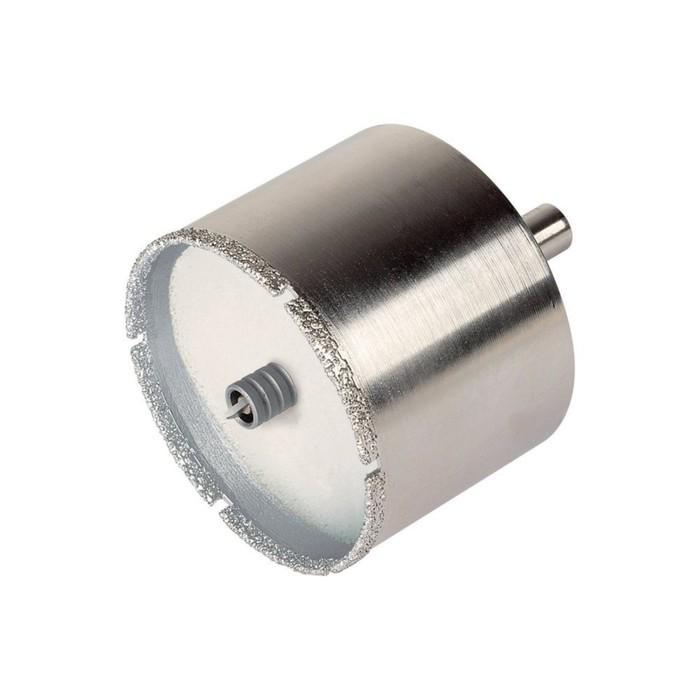 Алмазное сверло Wolfcraft 5922000, по керамической плитке, d=22 мм, хвостовик d=10 мм