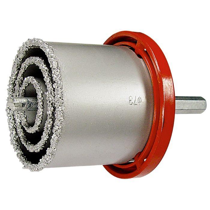 Набор коронок по керамич. Плитке MATRIX, 33-53-67-73-83 мм + напил., в пласт.боксе, 6-гран.хвост.