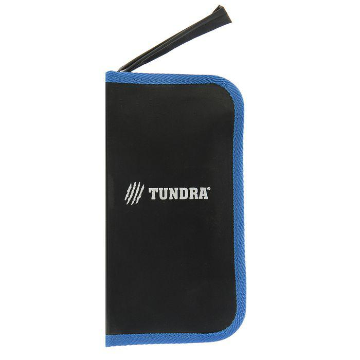 Набор инструмента TUNDRA comfort, 6 предметов, кейс-папка