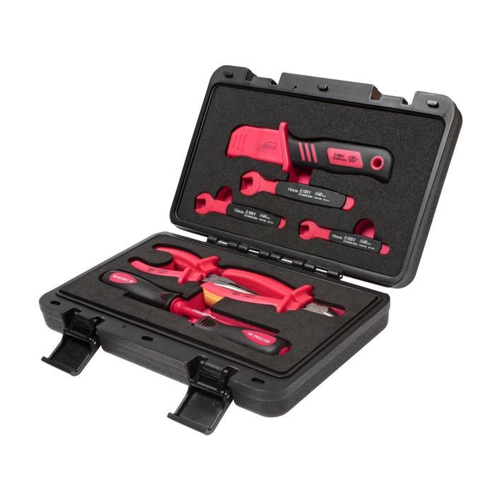 Набор инструментов JTC-I007, для электроустановок, 1000 В