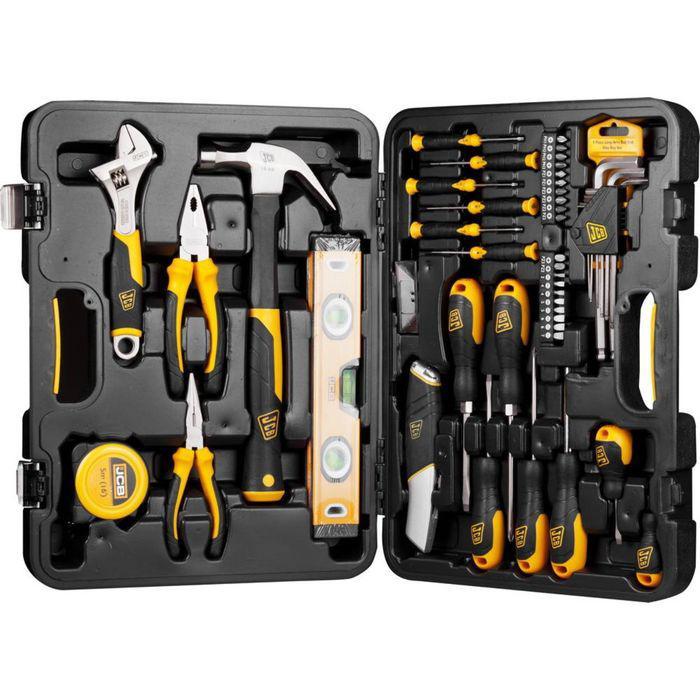 Набор инструментов  JCB JST002, для ремонтных работ, 50 предметов