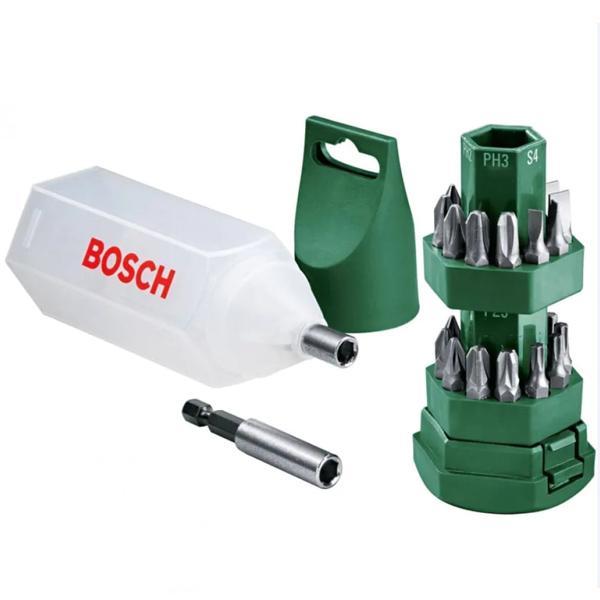 Биты для шуруповертов и торцовочные ключи Bosch НАБОР БИТ-25