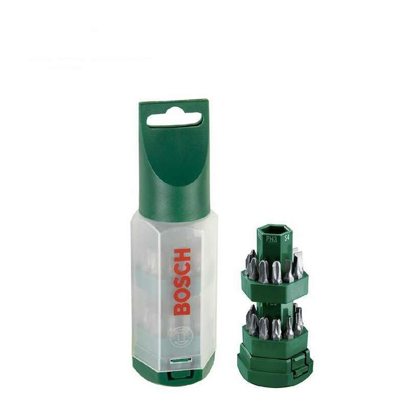 Биты для шуруповертов и торцовочные ключи Bosch Promoline Big-Bit (25 шт.)