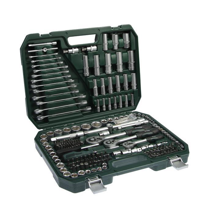 Набор инструмента TUNDRA premium, универсальный в кейсе 215 предметов