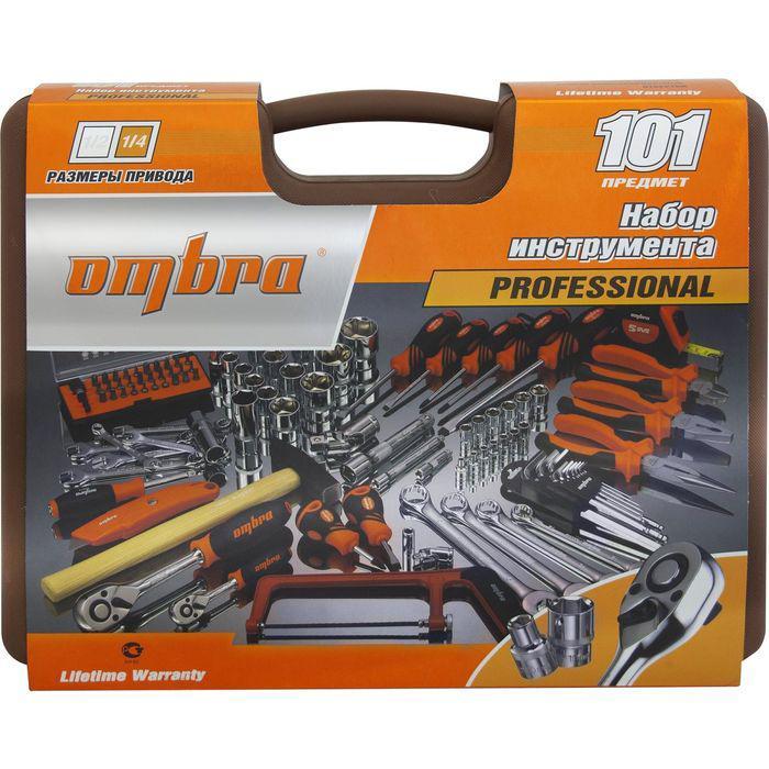 Набор инструмента Ombra OMT101S, 101 предмет