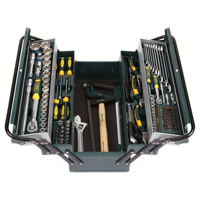 Набор инструмента KRAFTOOL INDUSTRIE 27978-H131, 131 предмет