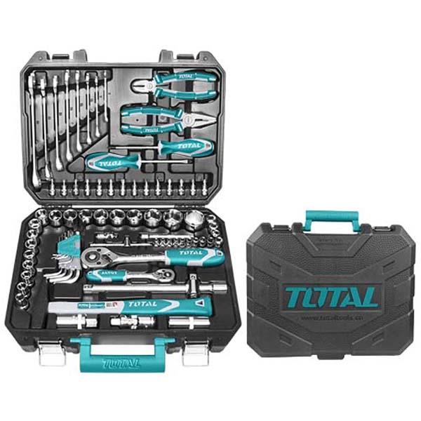 Набор инструментов Total THKTHP20776 77 деталей