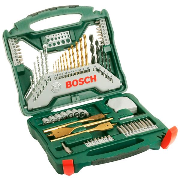 Набор инструментов Bosch Titanium X-Line 2607019327 (50 пр.)