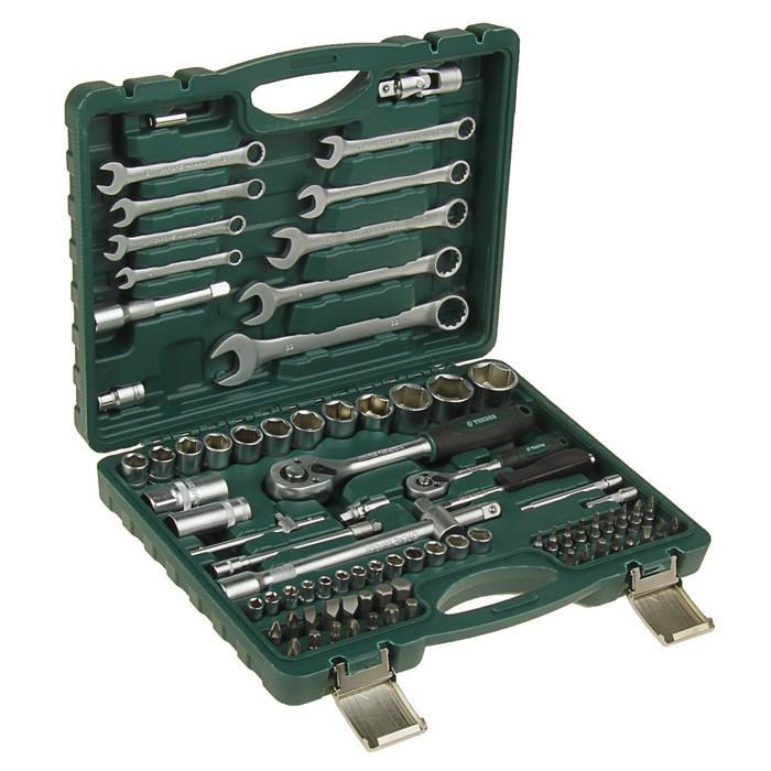 Набор инструмента TUNDRA premium, универсальный в кейсе 82 предмета