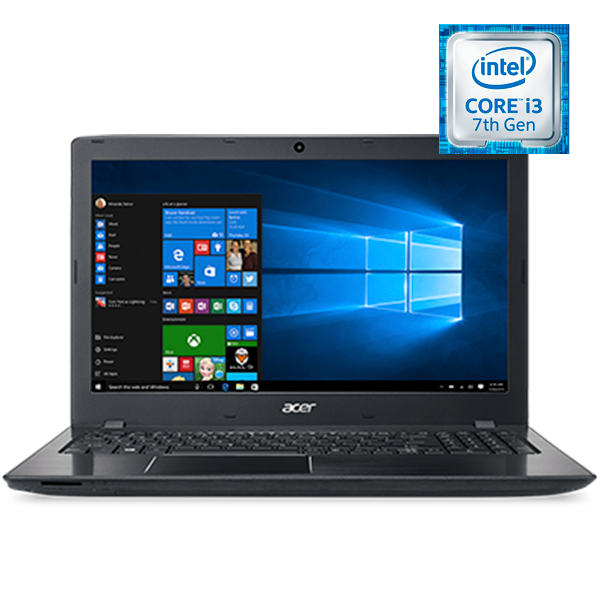 Acer ноутбугі Aspire E E5-576G Obsidian Black (NX.GVBER.045)
