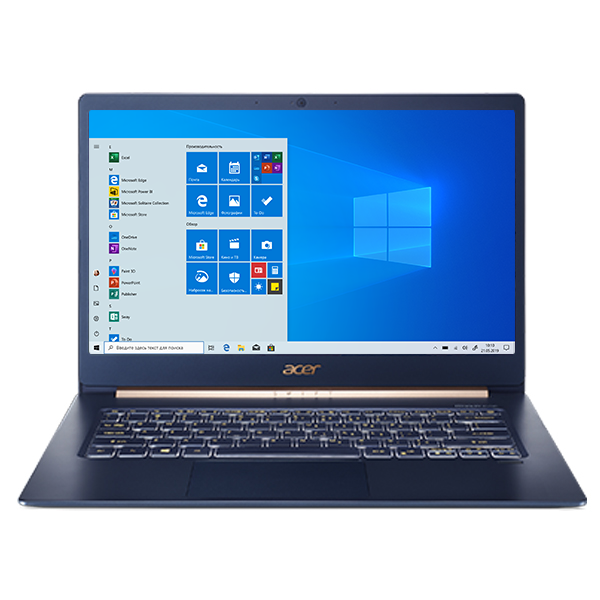 Ноутбук Acer Swift 5 SF514-52T Charcoal Blue (NX.H7HER.012)