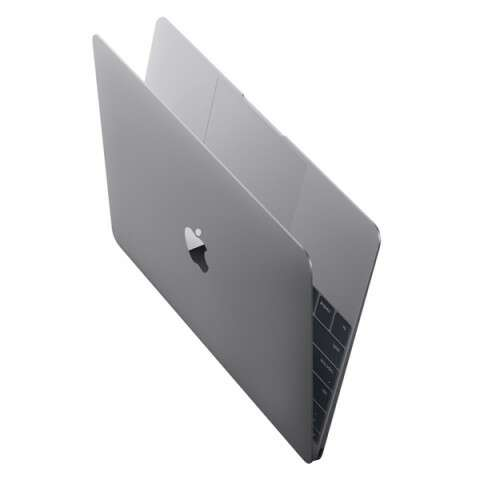 Ноутбук Apple MacBook 12 дюймов (MLH72) Space Gray