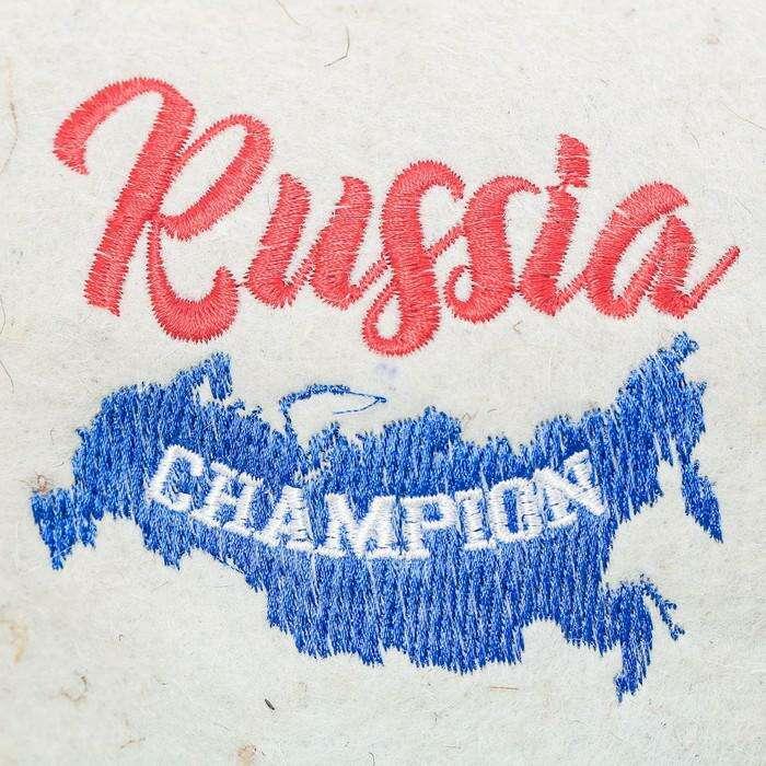 """Шапка модельная Кепка """"Russia CHAMPION"""""""