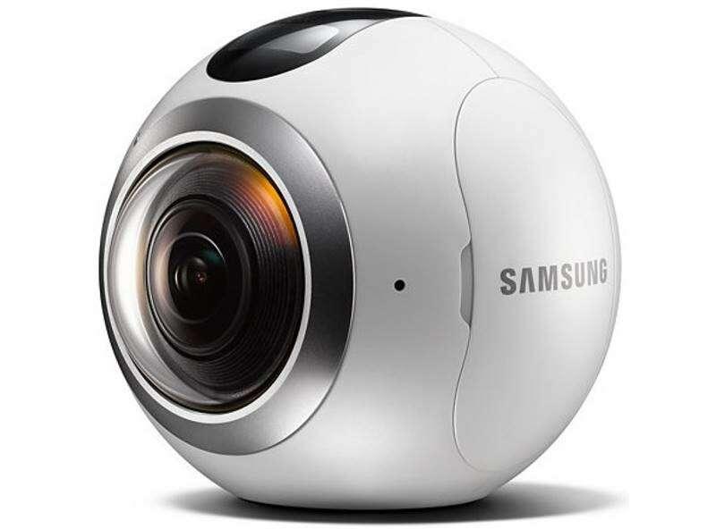 Камера Samsung Gear 360 (SM-C200NZWASKZ) белый