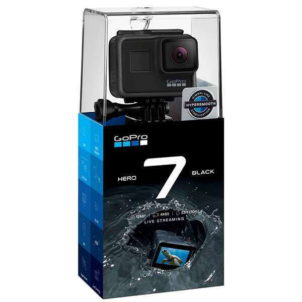 Экшн-камера GoPro HERO7 Black Edition (CHDHX-701-RW)