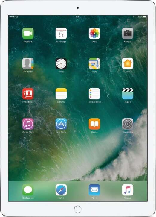 Планшет Apple iPad Pro 12.9″ 64GB Wi-Fi+Cellular (MQEE2) Silver