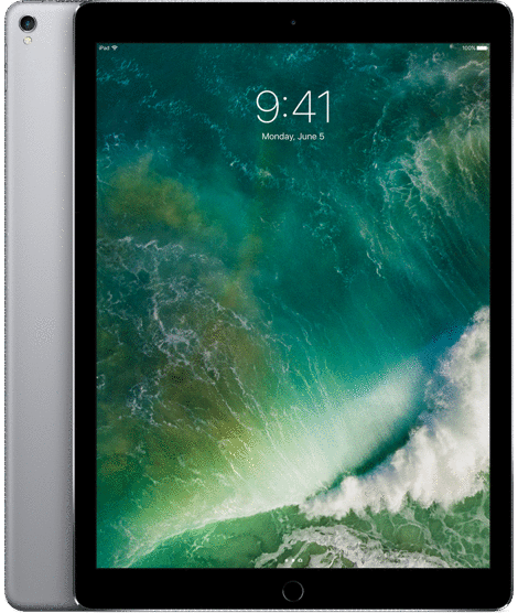Планшет Apple  iPad Pro Wi-Fi+Cellular 64GB Space Grey (MQED2)