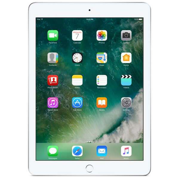 Планшет Apple iPad (2018) 32GB Wi-Fi + Cellular (MR6P2) Silver