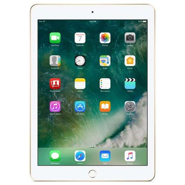Планшет Apple iPad (2018) Wi-Fi + Cellular 128GB Gold (MRM22)