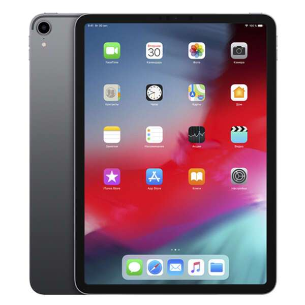 Планшет Apple iPad Pro 11″ (2018) 1TB Wi-Fi + Cellular (MU1V2) Space Grey
