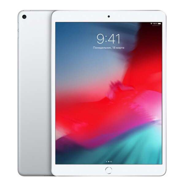Планшет Apple iPad Air 10.5″ (2019) 64GB WI-FI (MUUK2) Silver