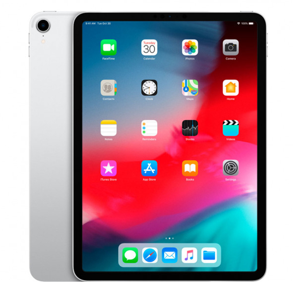 Планшет Apple iPad Pro 11 (2018) Wi-Fi + Cellular 256GB Silver (MU172)