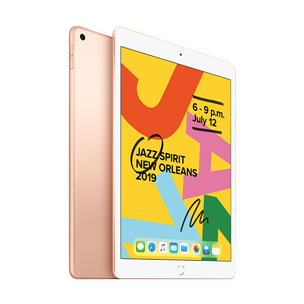 Планшет Apple 10.2″ iPad Wi-Fi 32GB Gold (MW762)