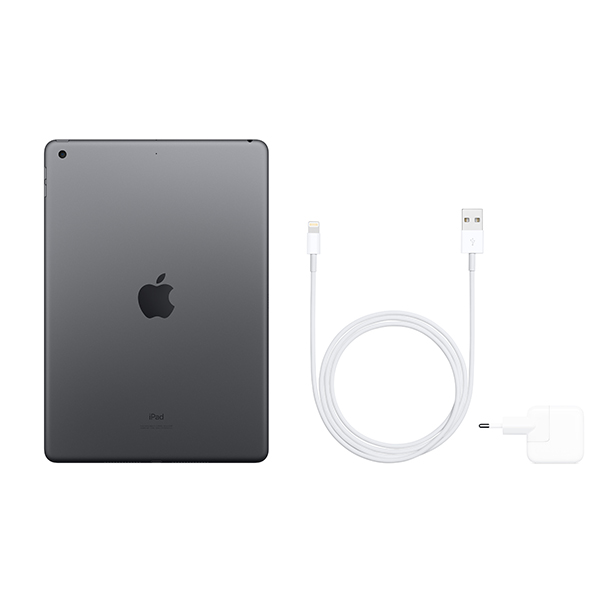 Планшет Apple 10.2″ iPad Wi-Fi 128GB Space Grey (MW772)
