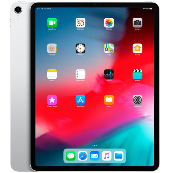Планшет Apple iPad Pro 12.9″ 256GB Wi-Fi + Cellular (MTJ62) Silver