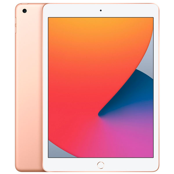Планшет Apple iPad 10.2″ (2020) 128GB Wi-Fi (MYLF2) Gold