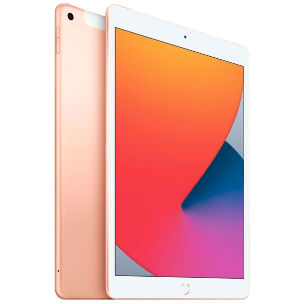 Планшет Apple iPad 10.2″ (2020) 32GB Wi-Fi + Cellular (MYMK2) Gold