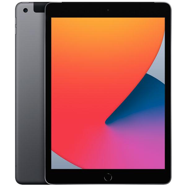 Планшет Apple iPad 10.2″ (2020) 128GB Wi-Fi + Cellular (MYML2) Space Grey
