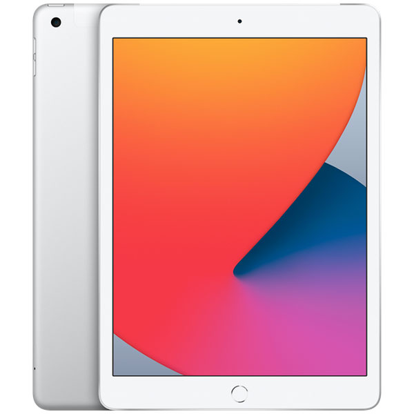 Планшет Apple iPad 10.2″ (2020) 128GB Wi-Fi + Cellular (MYMM2) Silver