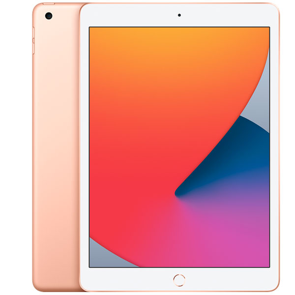 Планшет Apple iPad 10.2″ (2020) 128GB Wi-Fi + Cellular (MYMN2) Gold