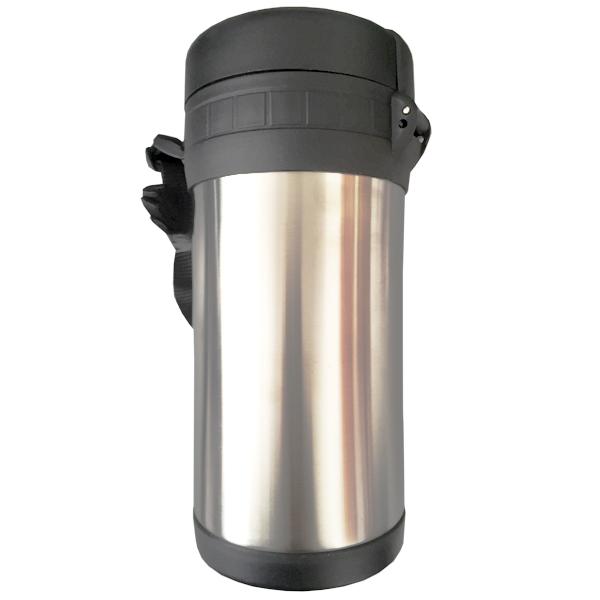 Термос 1,5 л. Toro 267362 (1,5 л.с 3-мя пласт. чашками для пищи,нерж.сталь )