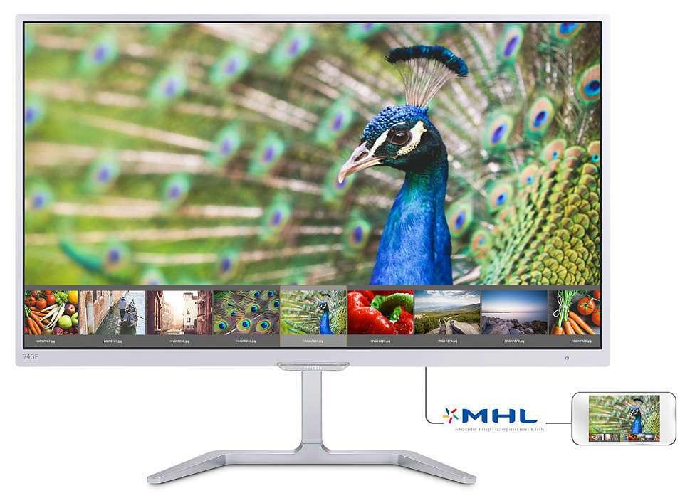 Монитор Philips 246E7QDSW