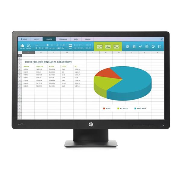 """Монитор HP ProDisplay P203 (X7R53AA) 20"""""""