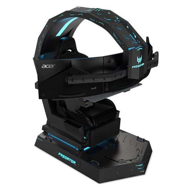 Игровое кресло-трон Acer Predator Thronos  (NP.GCR11.002)