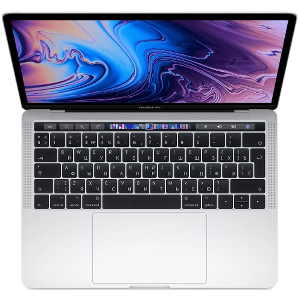 Apple ультрабугы Macbook Pro 13 Touch Bar Silver, MV992RU/A