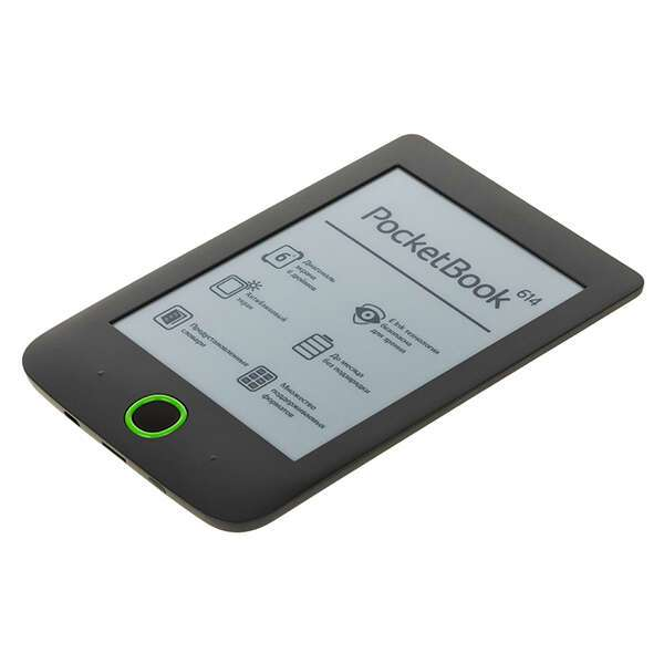 Электронная книга PocketBook PB-614 Basic 2 (Серый)