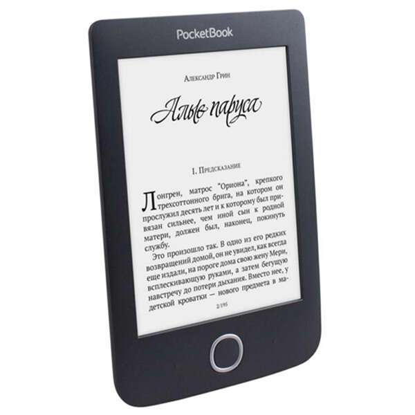 Электронная книга PocketBook  614 Basic 3 (PB614-2-E-CIS) черный