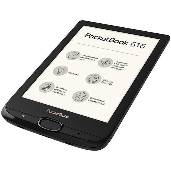 Электронная книга PocketBook 616 PB616-H-CIS (Черный)
