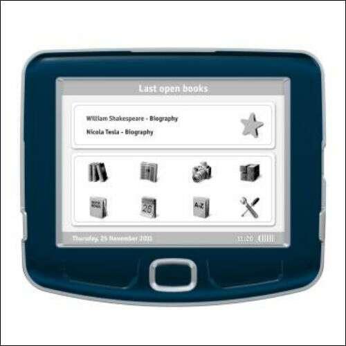Электронная книга M-BOOK PB511/E50802/black E-BOOK PocketBook 511, dark blue