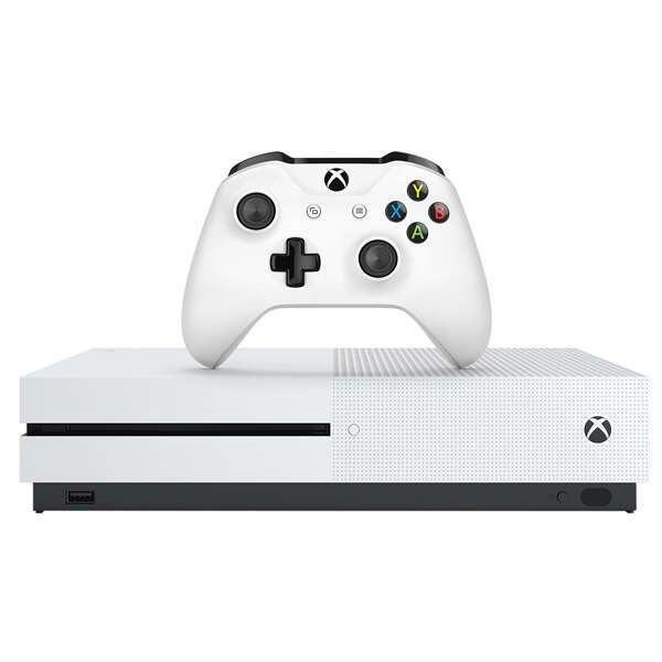 Игровая консоль Xbox One S 1Тб в комплекте с карточкой Rare Replay и 2 играми