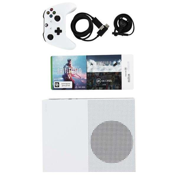 Игровая Консоль Xbox One S 1TB в комплекте с игрой Battlefield V