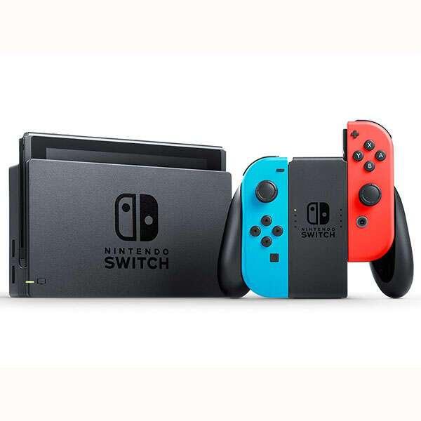 Игровая консоль Nintendo 81443 NS:Nintendo Switch (red/blue)+The Legend of Zelda:Breath of the Wild Bundle/игровая консоль Nintendo
