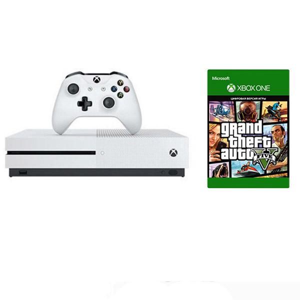 Игровая консоль Xbox One S 1ТБ + GTA5