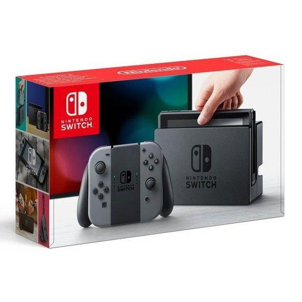 Игровая консоль Nintendo NS: Nintendo Switch (Серый)