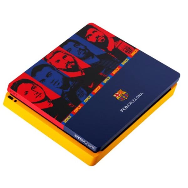 """Игровая консоль Sony PS4 Slim 1 TB """"Барселона"""""""