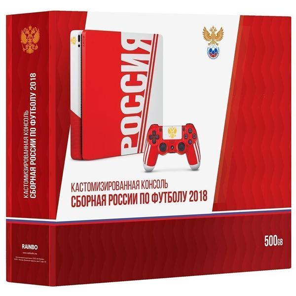 """Игровая консоль Sony PS4 Slim 1 TB """"Сборная России"""""""